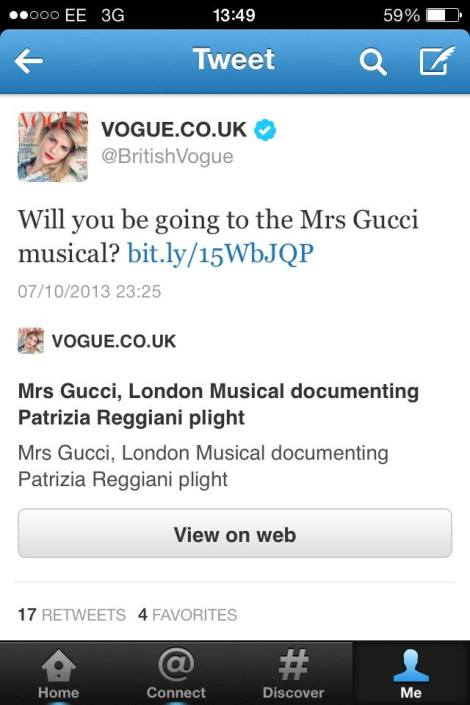 Gucci in vogue